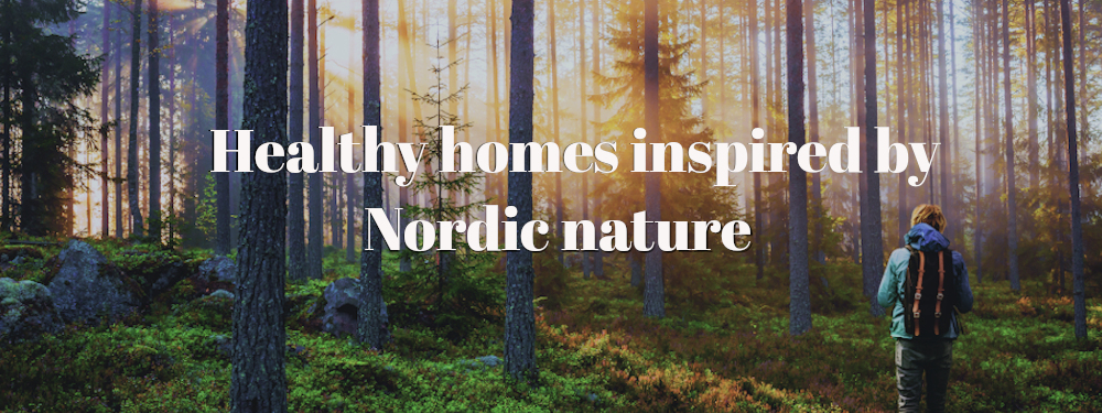 Healthy houses inspired by Nordic noture